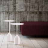 Table d appoint Burin Viccarbe design Patricia Urquiola