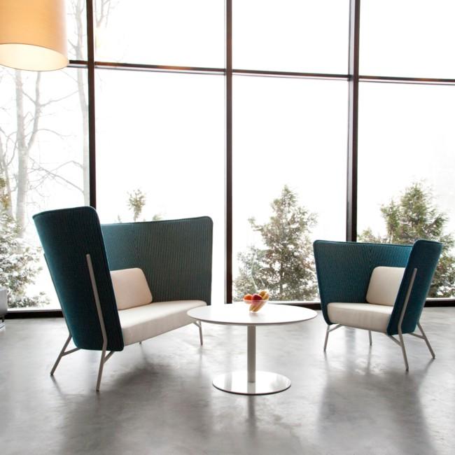 Mobilier de bureaux 06 sud tertiaire cannes mandelieu for Fauteuil banquette design