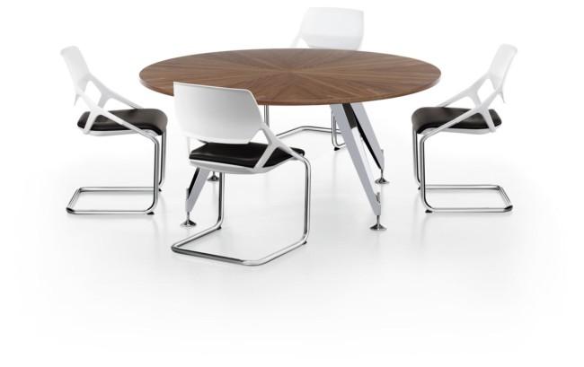 table de reunion. excellent table de runion core ronde pas cher