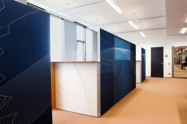 Mobilier de bureaux 06 sud tertiaire cannes mandelieu for Cloison murale amovible